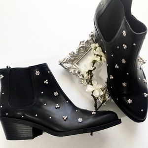 🖤H&M studded ankle boots | embellished | boho